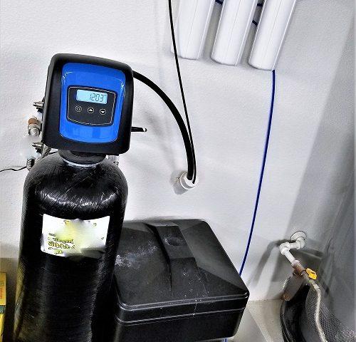 installation d'adoucisseur d'eau
